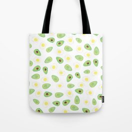 Avocados & Eggs Tote Bag