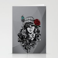 gypsy Stationery Cards featuring gypsy by Erdogan Ulker