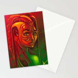 Looking back at you Stationery Cards