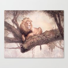 Up a Tree Canvas Print
