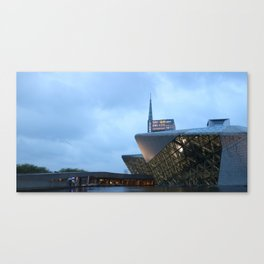 Zaha H A D I D | architect | Guangzhou Opera House Canvas Print