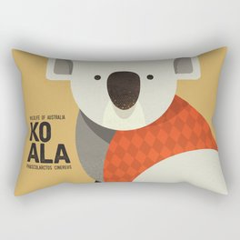 Hello Koala Rectangular Pillow