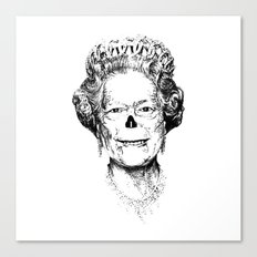 The Warming Dead! The Queen. Canvas Print