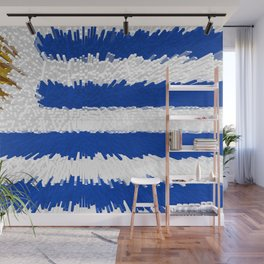 Extruded flag of Uruguay Wall Mural