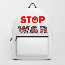 Stop War Backpack