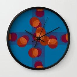Blueness Wall Clock