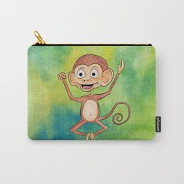 Jumping Monkey Carry-All Pouch