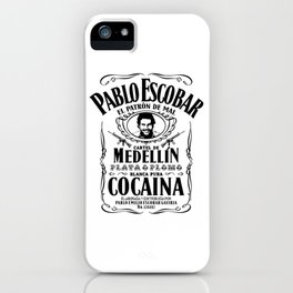 Blanca Pura Cocaina iPhone Case