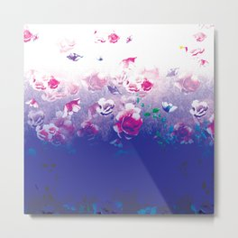 Peonies In Water Metal Print