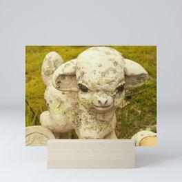 Zombie lamb has had enough of your sh*t Mini Art Print