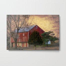 Pennsylvania Vintage Barn Metal Print