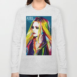 WPAP Avril Lavigne Long Sleeve T-shirt