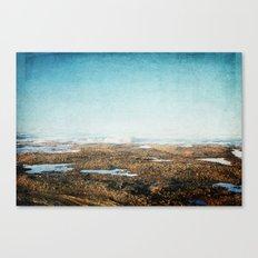Into the Sea Canvas Print