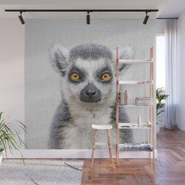 Lemur 2 - Colorful Wall Mural