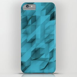 low poly texture iPhone Case