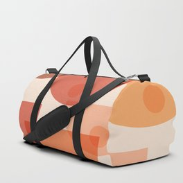 Mid Century Boobs Abstract Duffle Bag