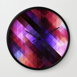 Pattern 11 Wall Clock