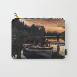 Golden Sunset over Loch Ard Carry-All Pouch