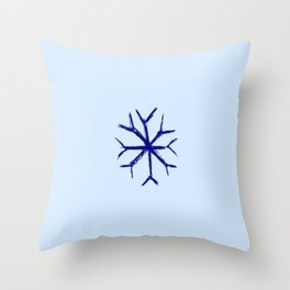 snowflake 1 Throw Pillow
