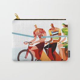 Bicycle Tour de France Tandem for Three Carry-All Pouch