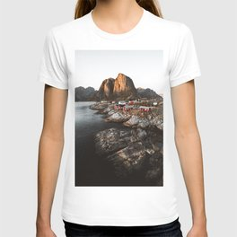 Fisherman Village, Lofoten Islands, Norway T-shirt