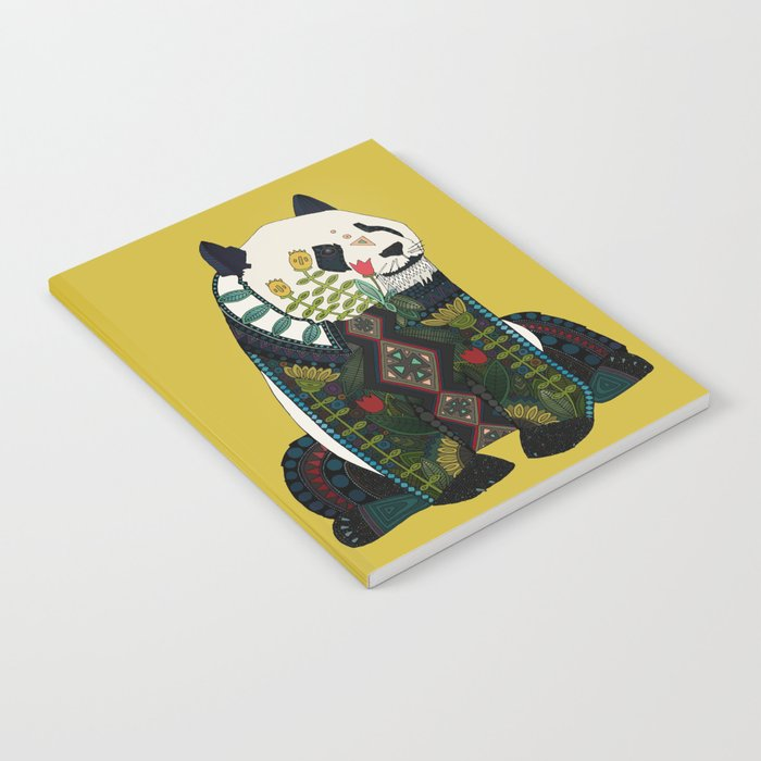 panda ochre Notebook