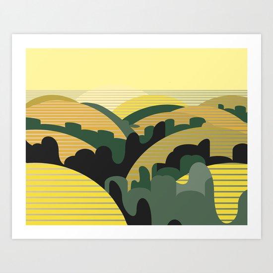 200 Meters from the Sea Art Print