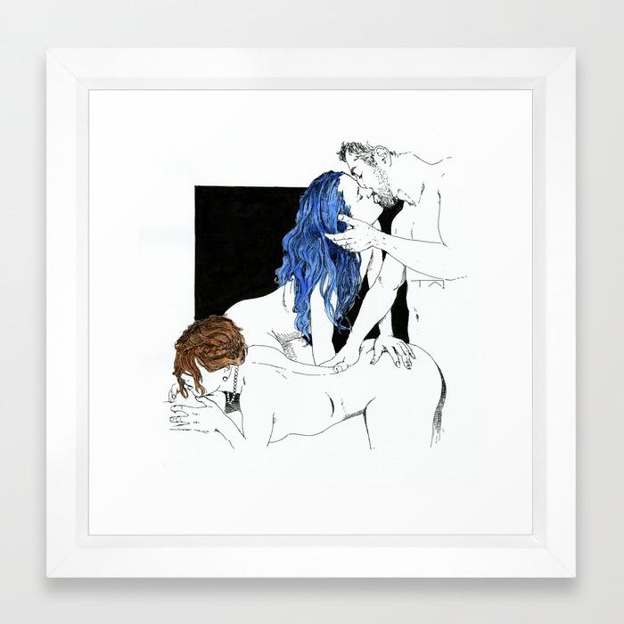 Threesome Art