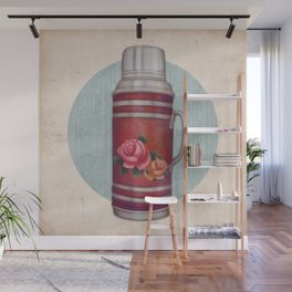 Retro Warm Water Jar Wall Mural