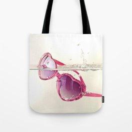 La vida en rosa Tote Bag