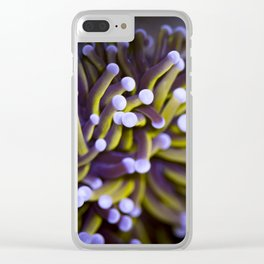 Coral Euphylia Golden Torch Clear iPhone Case