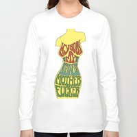 body Long Sleeve T-shirts featuring Body by Triple Six Illustration