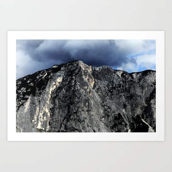 "Unbreakable ""Der Loser"" #1 #Mountain #art #society6 Art Print"