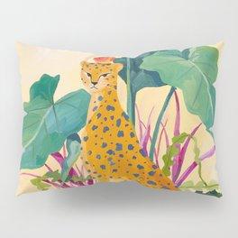 Cheetah and Apples Pillow Sham