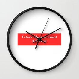 Future Life Enthusiast Wall Clock