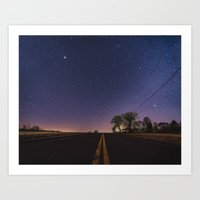 Road Into Space Art Print
