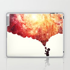 The universe in a soap-bubble! Laptop & iPad Skin