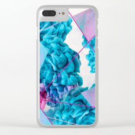 INK Cld Neon Clear iPhone Case