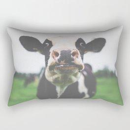 Funny Cow Photography print Rectangular Pillow