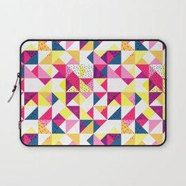 Bright Geometric Revive Funky Laptop Sleeve