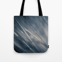 Black and White Blades Tote Bag
