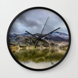 Lakes of Covadonga Wall Clock