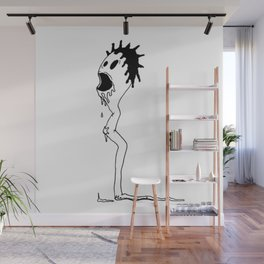 The Creeper Sperm Wall Mural