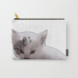 small kitten Carry-All Pouch
