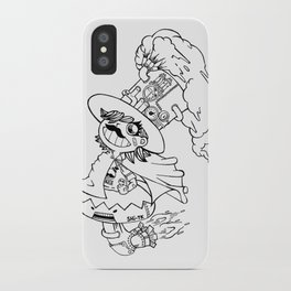 Mr.shiitake (mushroom) iPhone Case