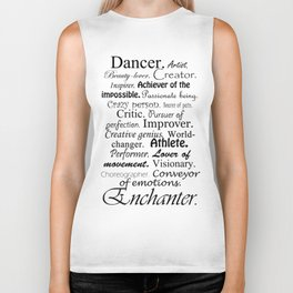 Dancer Description Biker Tank
