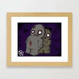 Belated Halloween Piece Framed Art Print
