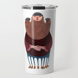 King Beardy Travel Mug