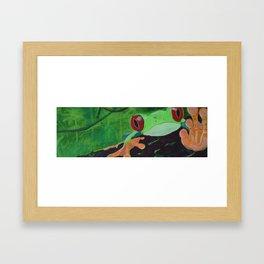 Smacks Framed Art Print