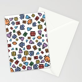 Monster Hunter Patterns Stationery Cards